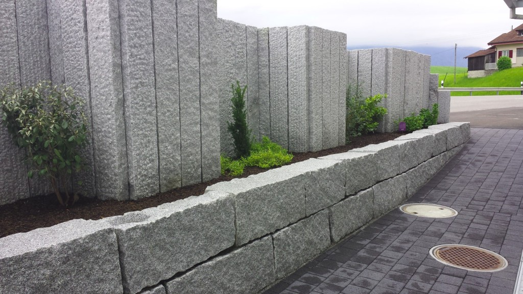 Granit Mauersteine und Palisaden (Large)