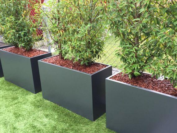 pflanzentrog aluminium pulverbeschichtet 100 swissmade von green4livng. Black Bedroom Furniture Sets. Home Design Ideas